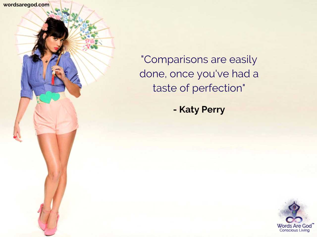 Katy Perry Music Quotes