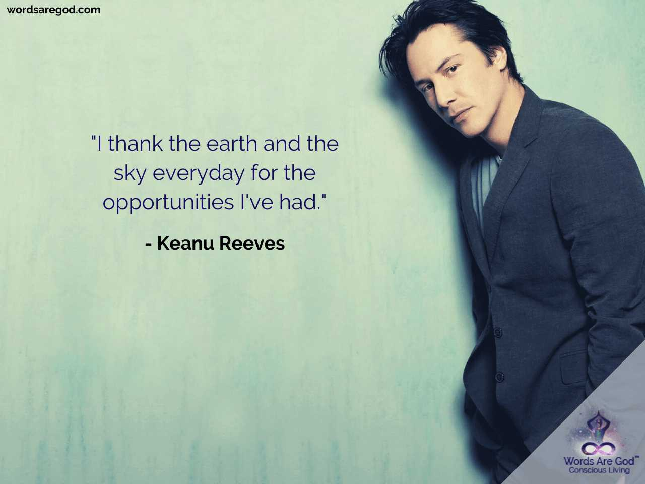 Keanu Reeves Best Quote