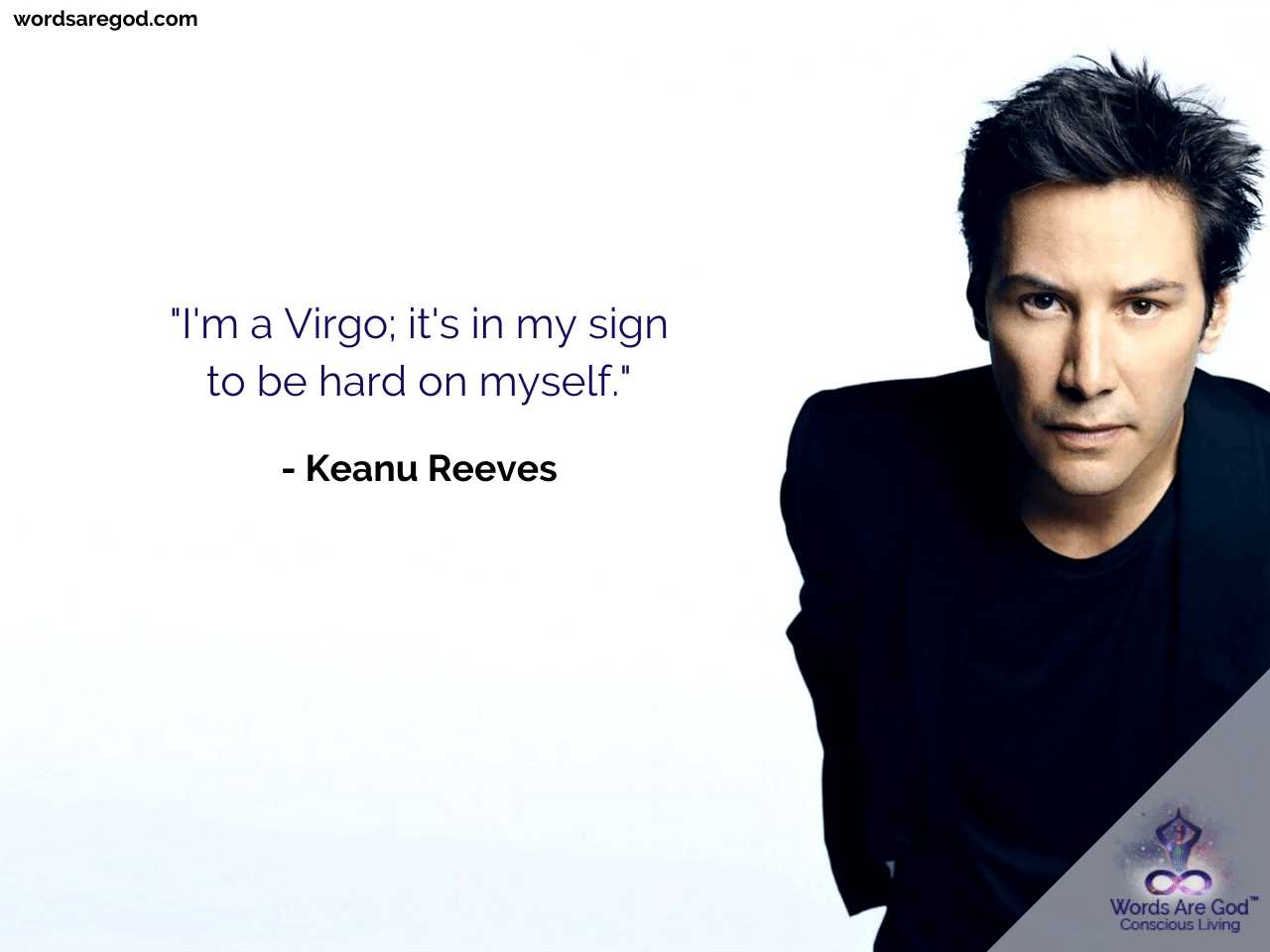 Keanu Reeves Inspirational Quote