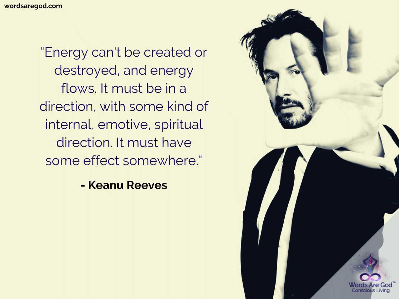 Keanu Reeves Life Quote