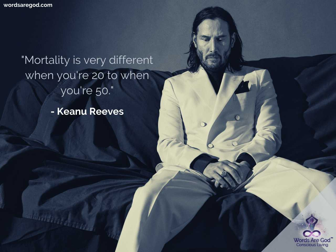 Keanu Reeves Motivational Quote