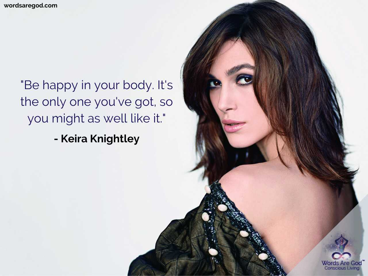 Keira Knightley Best Quotes