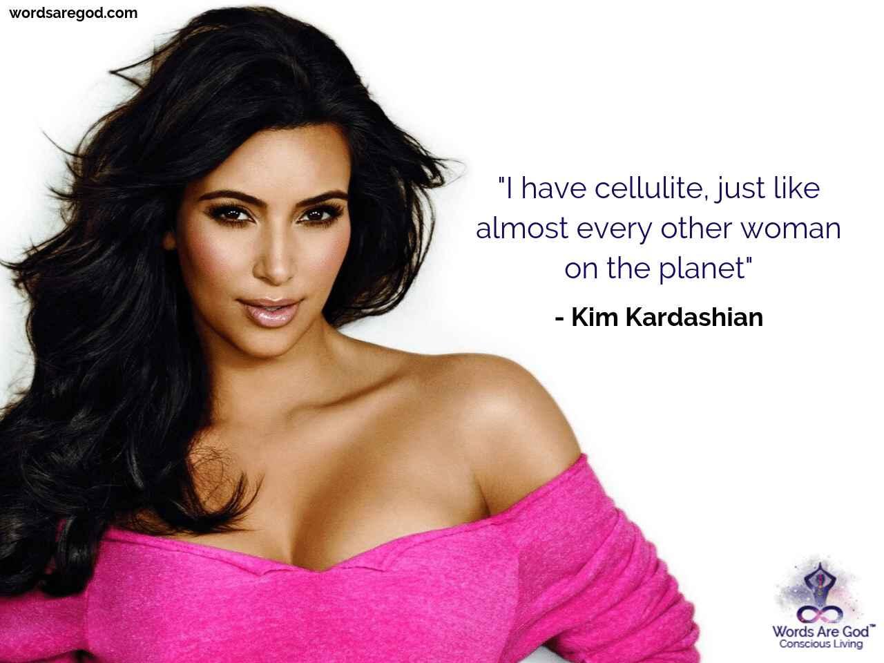 Kim Kardashian Motivational Quote by Kim Kardashian