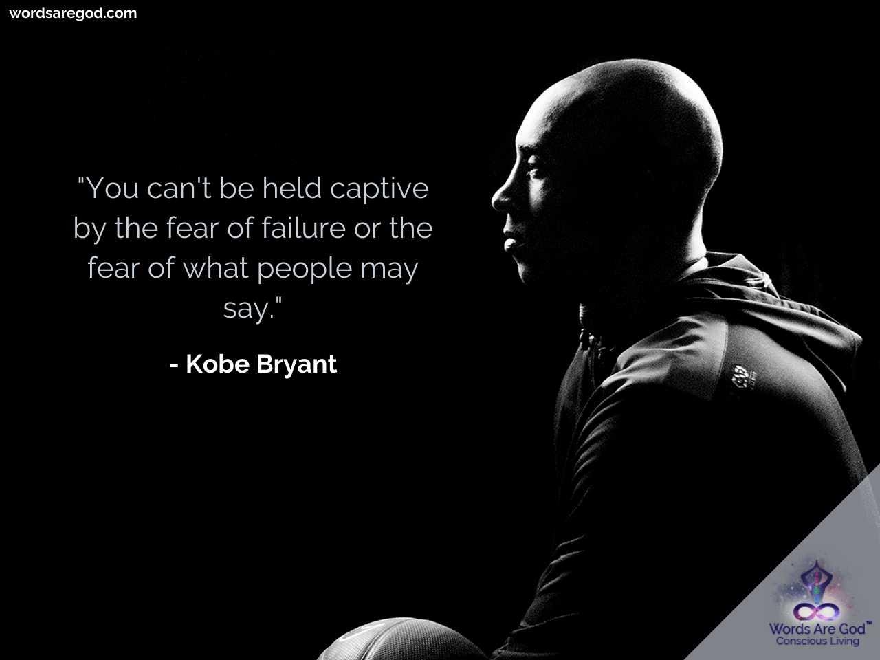 Kobe Bryant Inspirational Quote by Kobe Bryant
