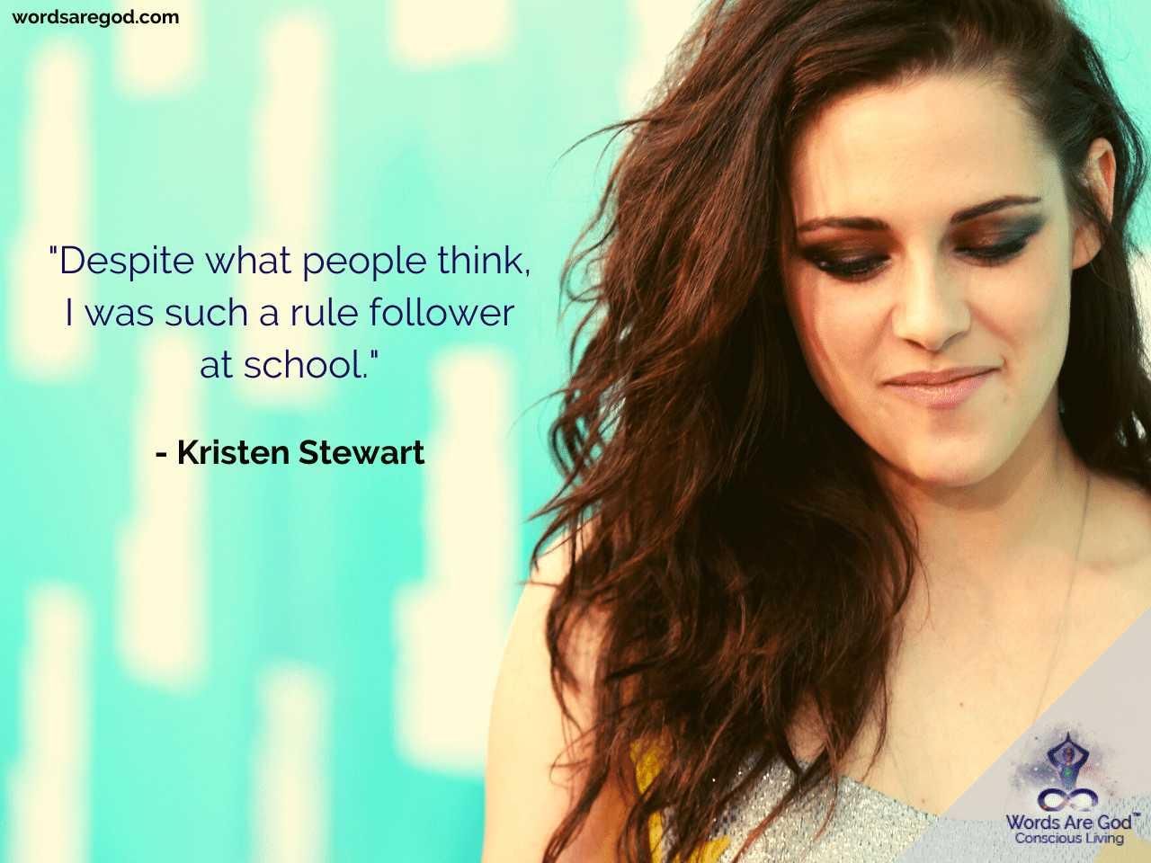 Kristen Stewart Best Quotes