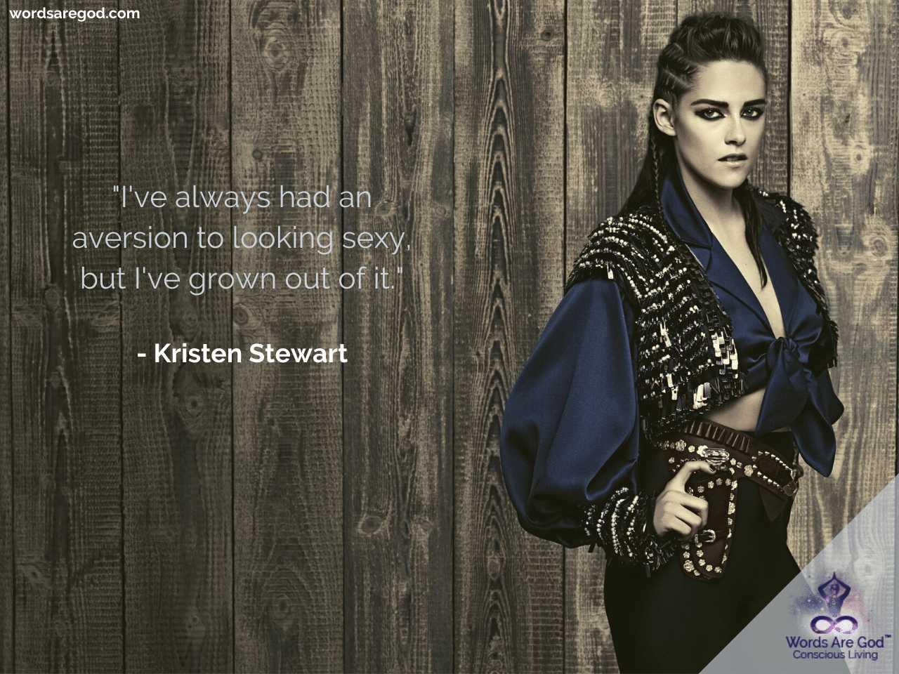 Kristen Stewart Inspirational Quotes