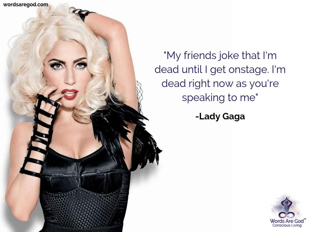 Lady Gaga Music Quote