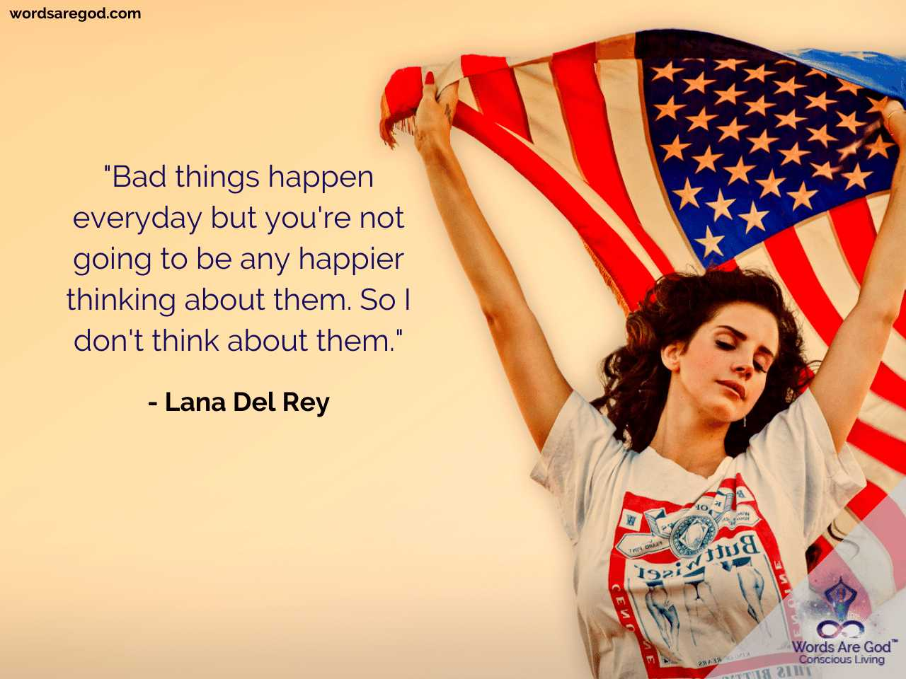 Lana Del Rey Inspirational Quotes