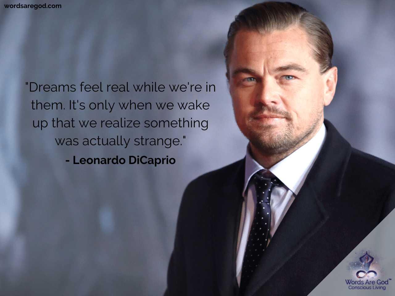 Leonardo DiCaprio Best Quotes