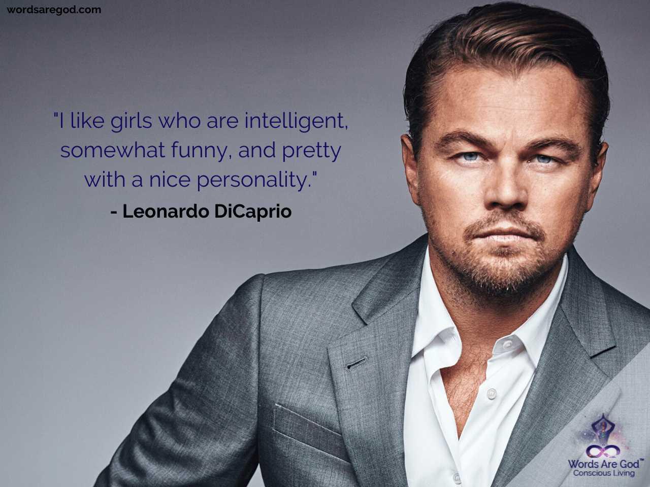 Leonardo DiCaprio Life Quotes