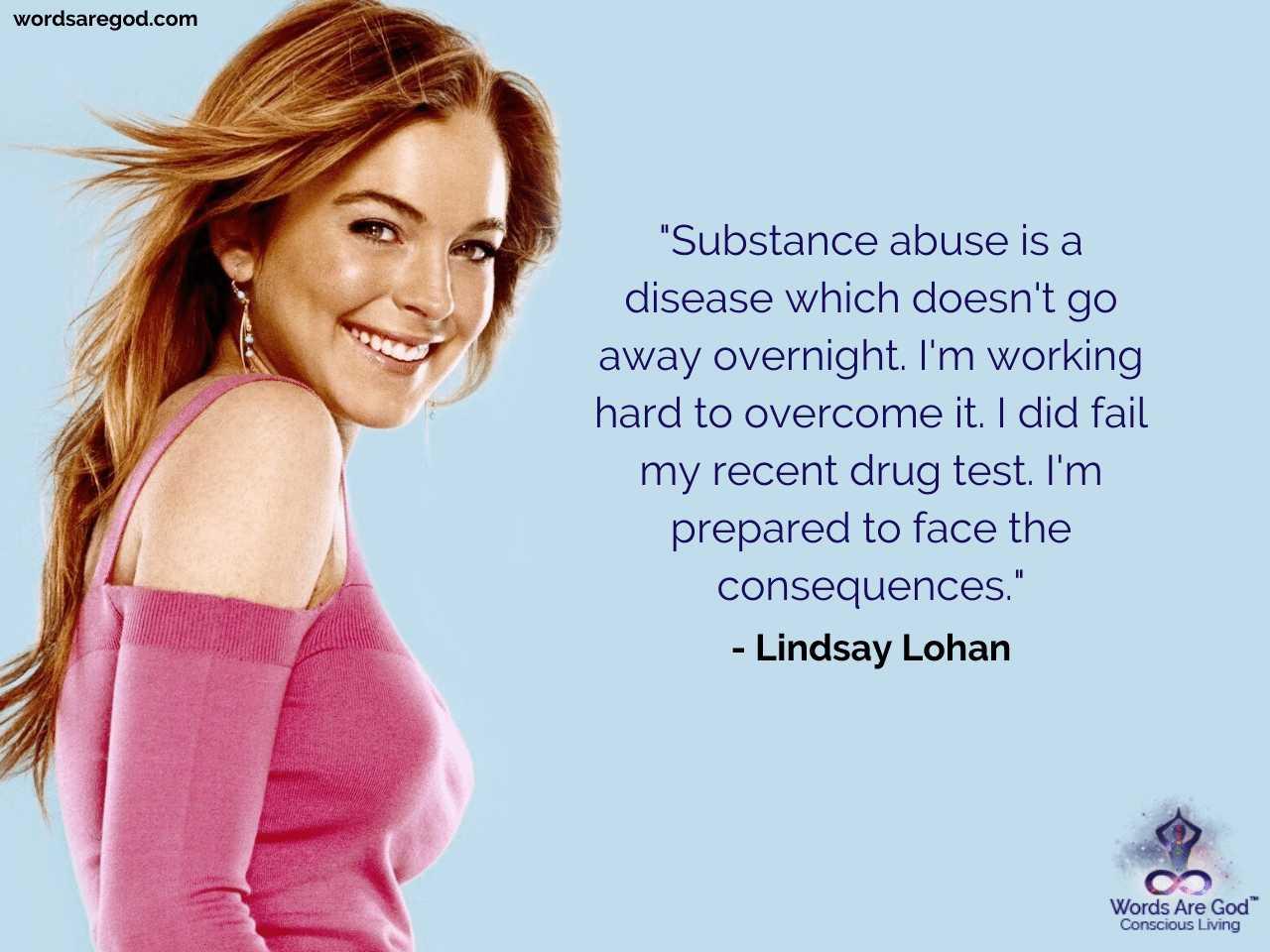 Lindsay Lohan Life Quotes