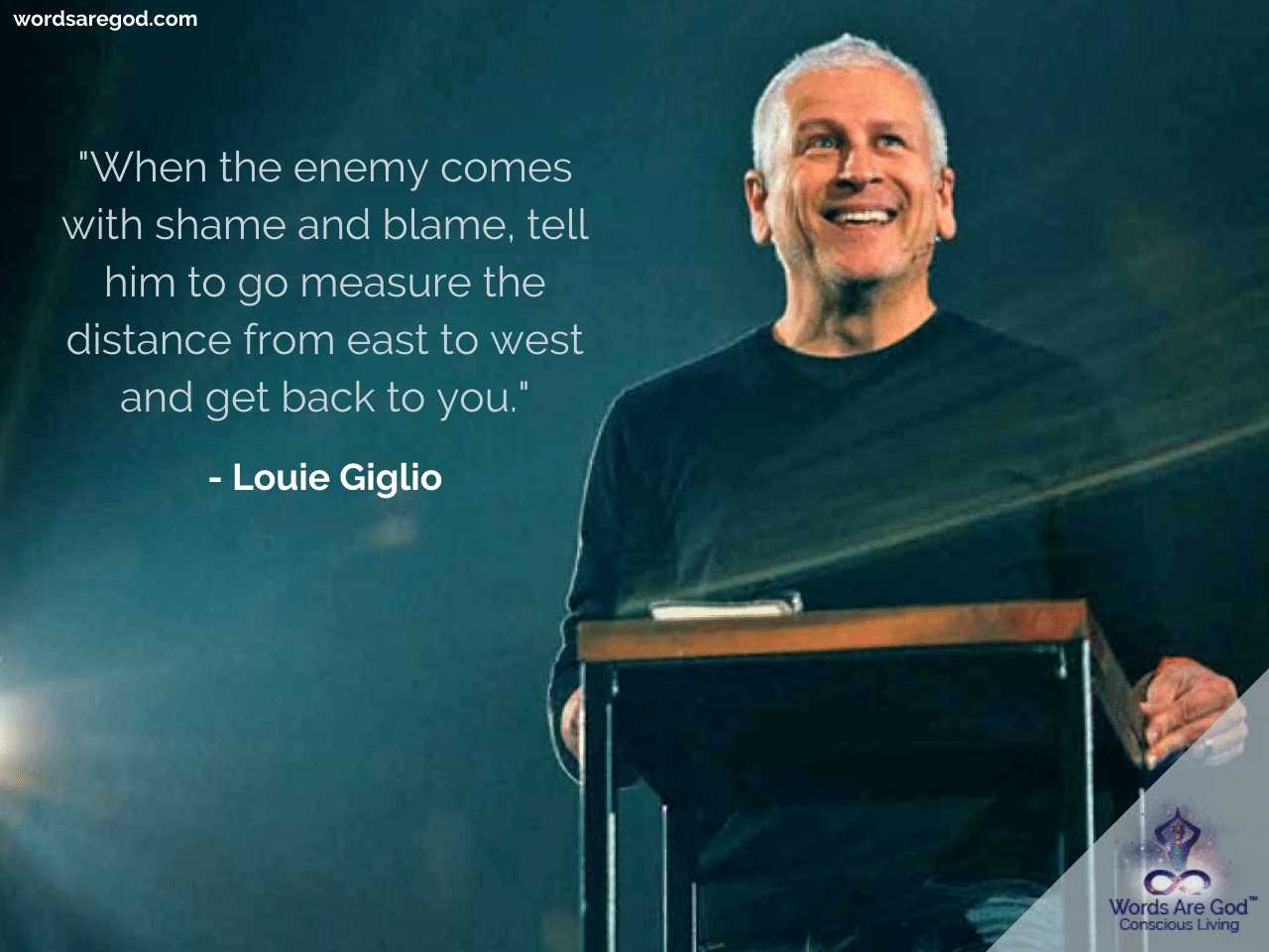 Louie Giglio Best Quote