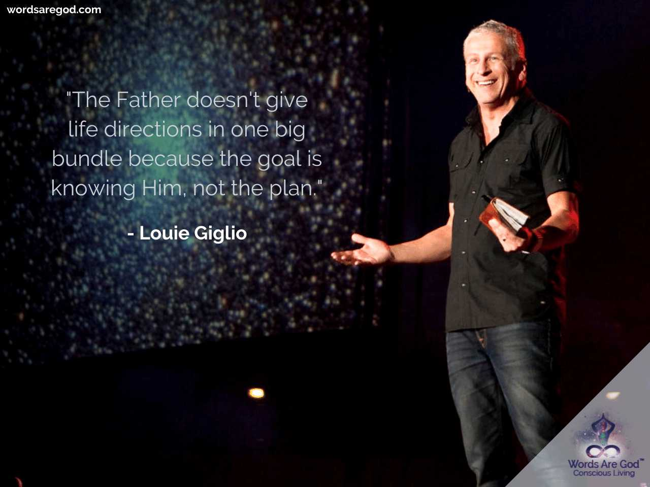Louie Giglio Inspirational Quote