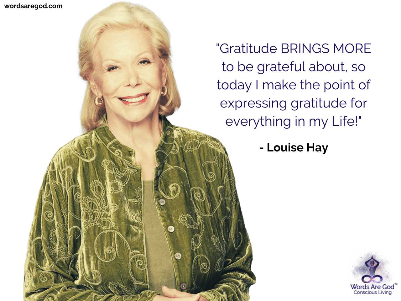 Louise Hay Inspirational Quote by Louise Hay