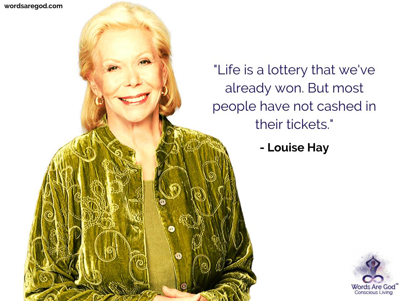 Louise Hay Inspirational Quote