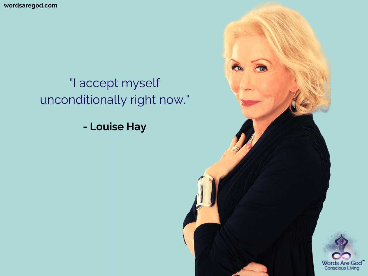 Louise Hay Motivational Quote by Louise Hay