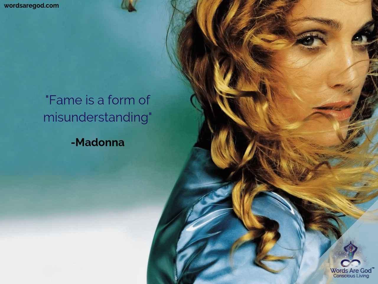 Madonna Motivational Quote