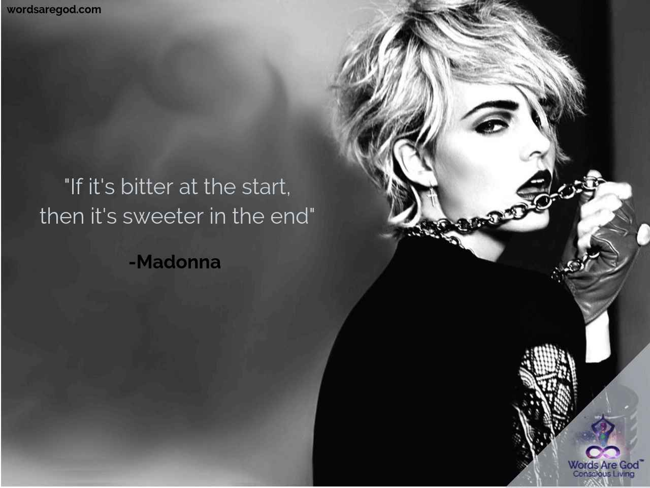 Madonna Motivational Quote by Madonna