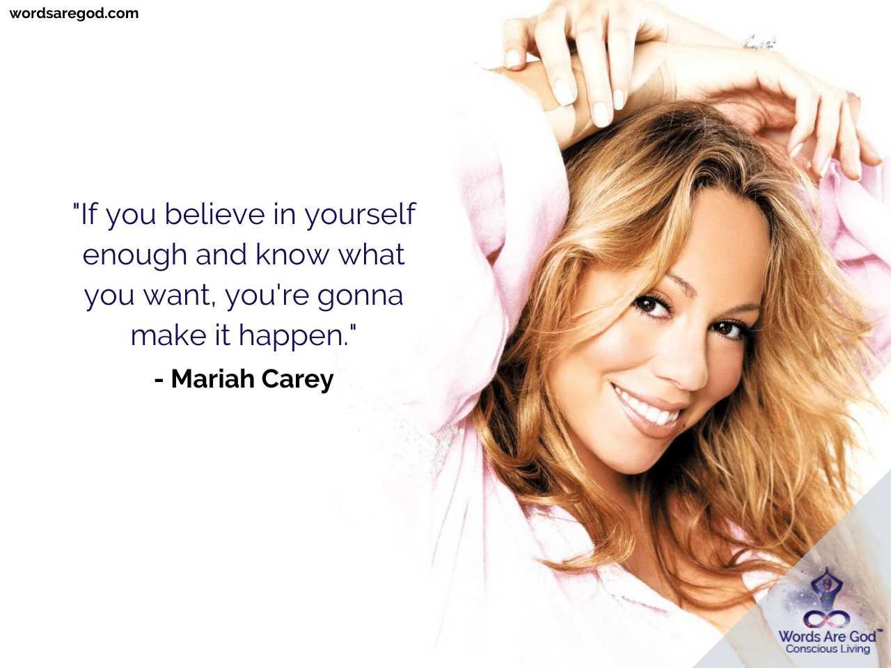 Mariah Carey Best Quotes