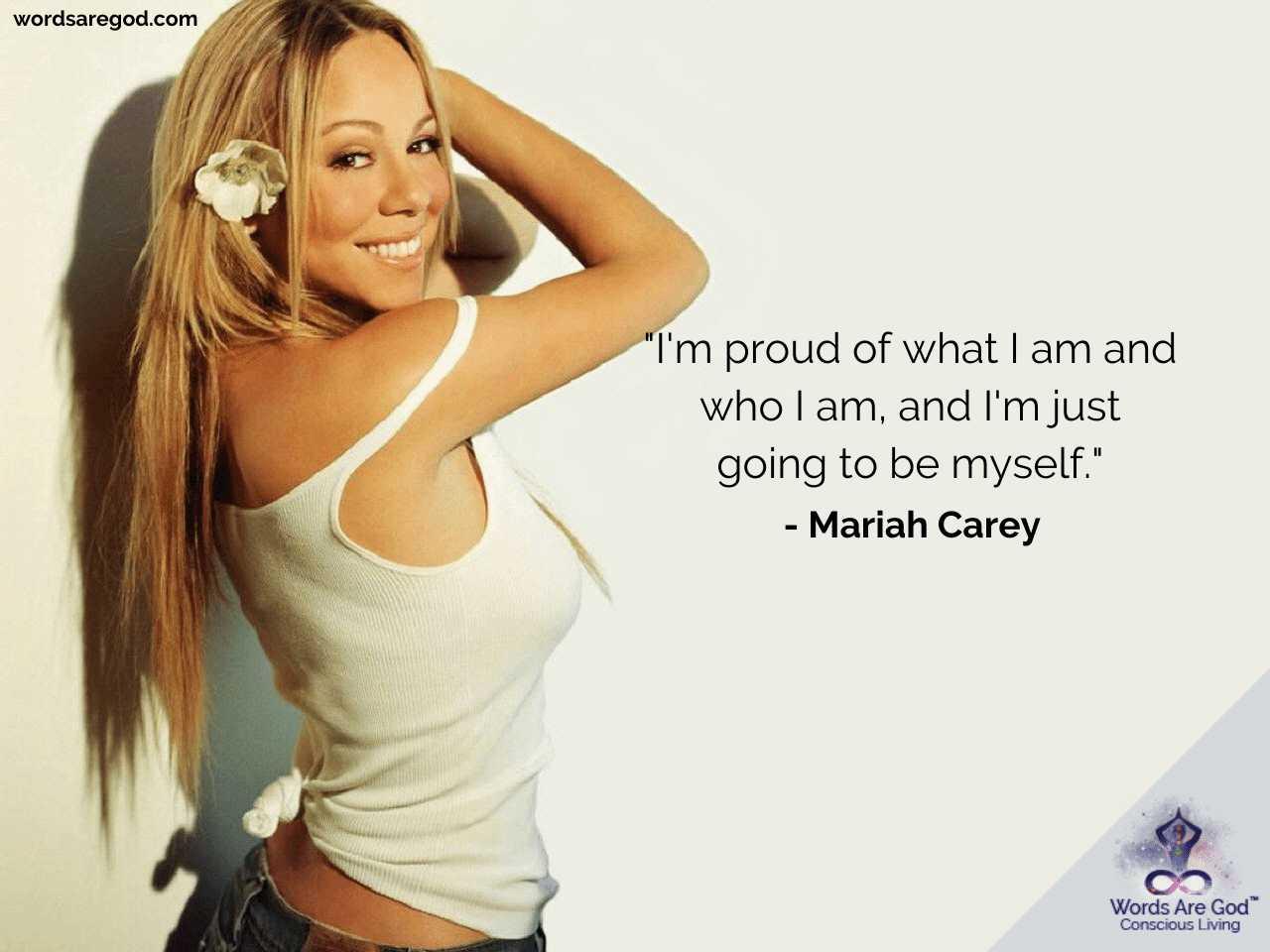 Mariah Carey Inspirational Quotes