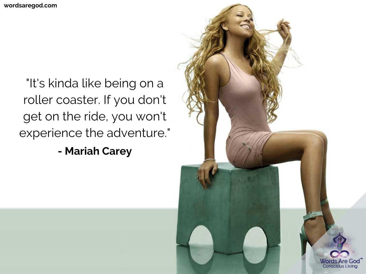 Mariah Carey Life Quotes