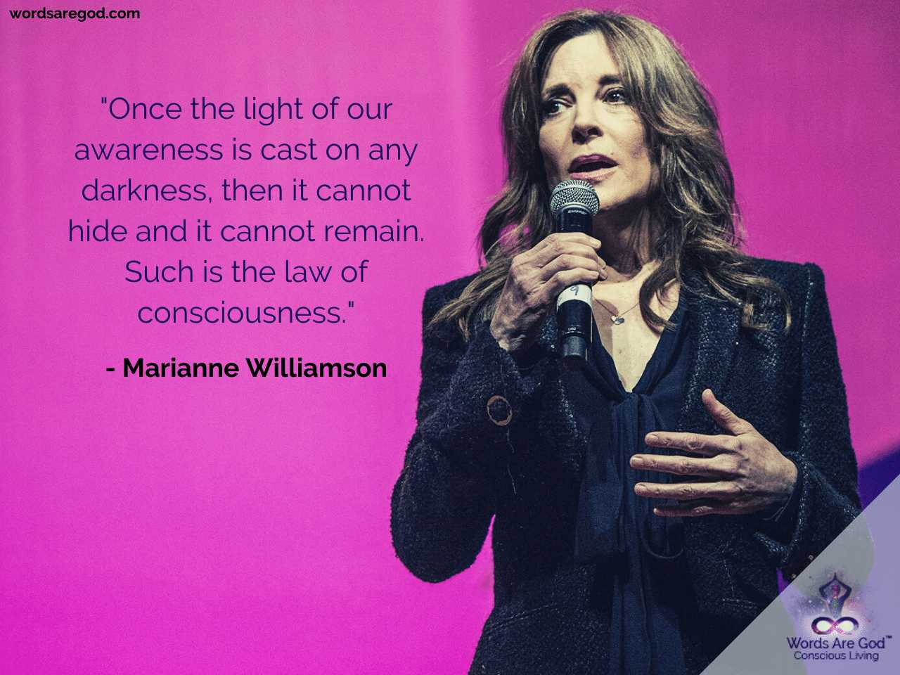 Marianne Williamson Best Quote