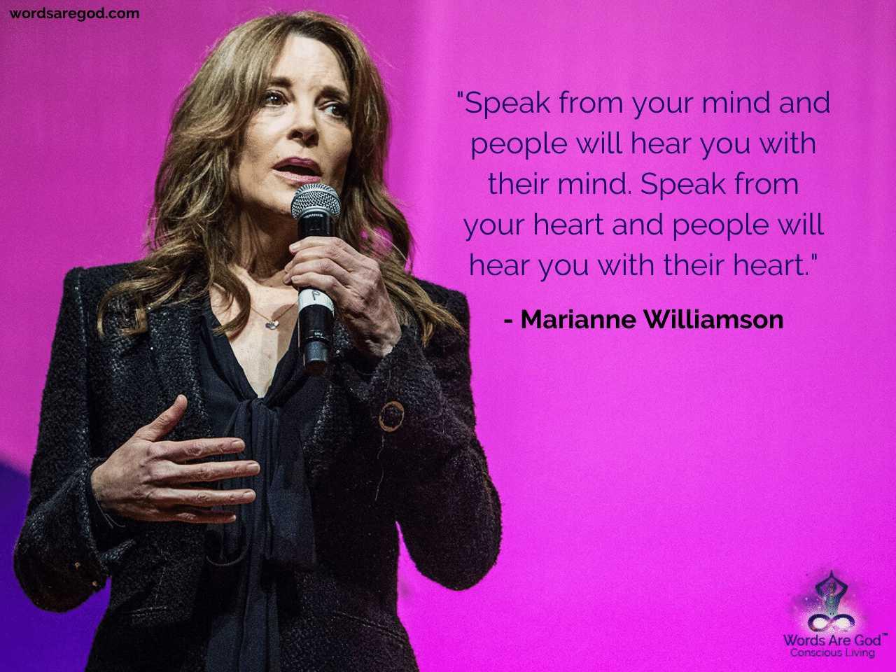 Marianne Williamson Best Quote