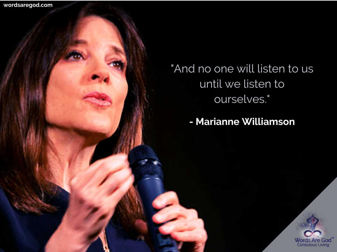 Marianne Williamson Life Quote
