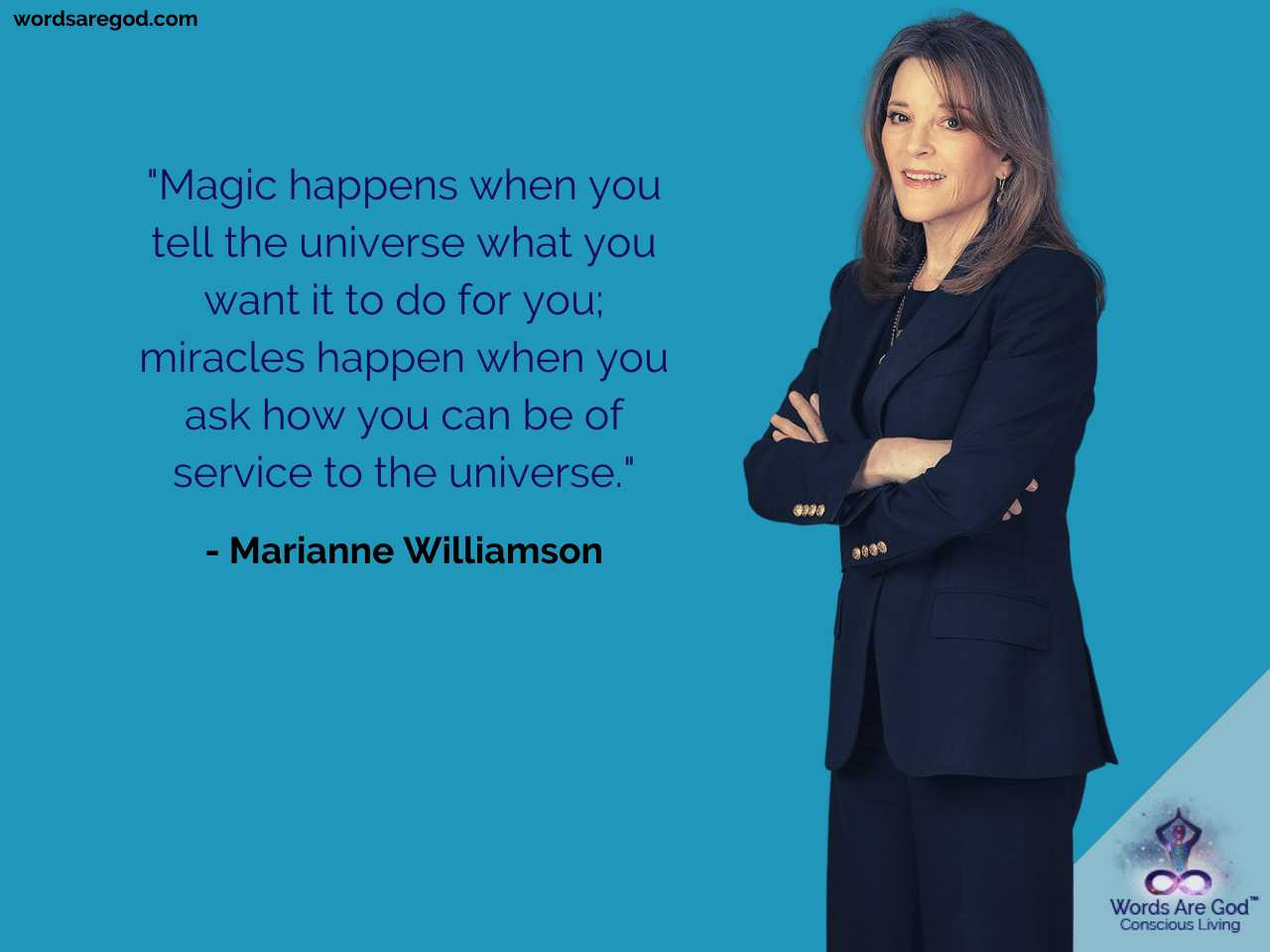 Marianne Williamson Motivational Quote
