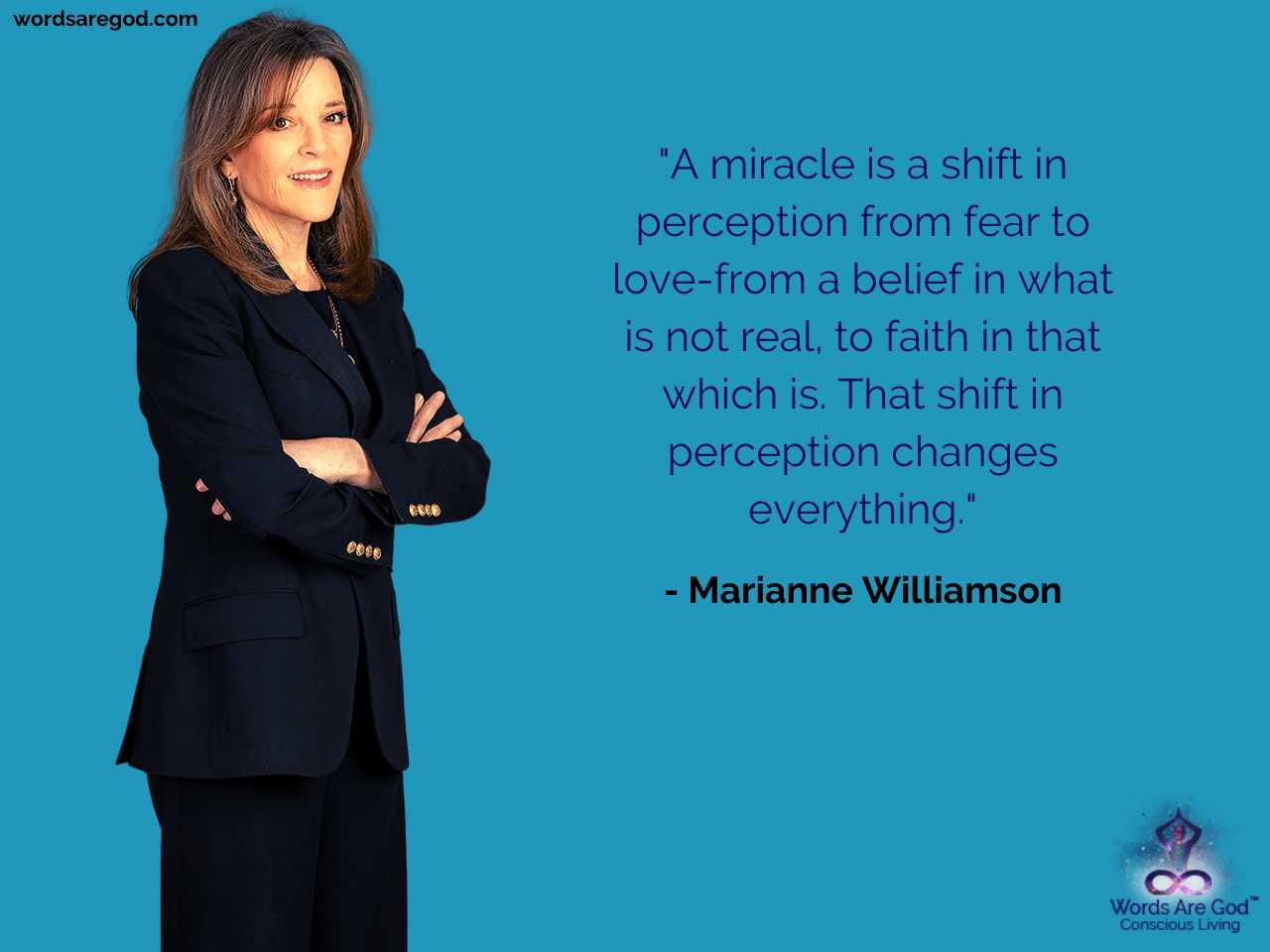 Marianne Williamson Motivational Quote