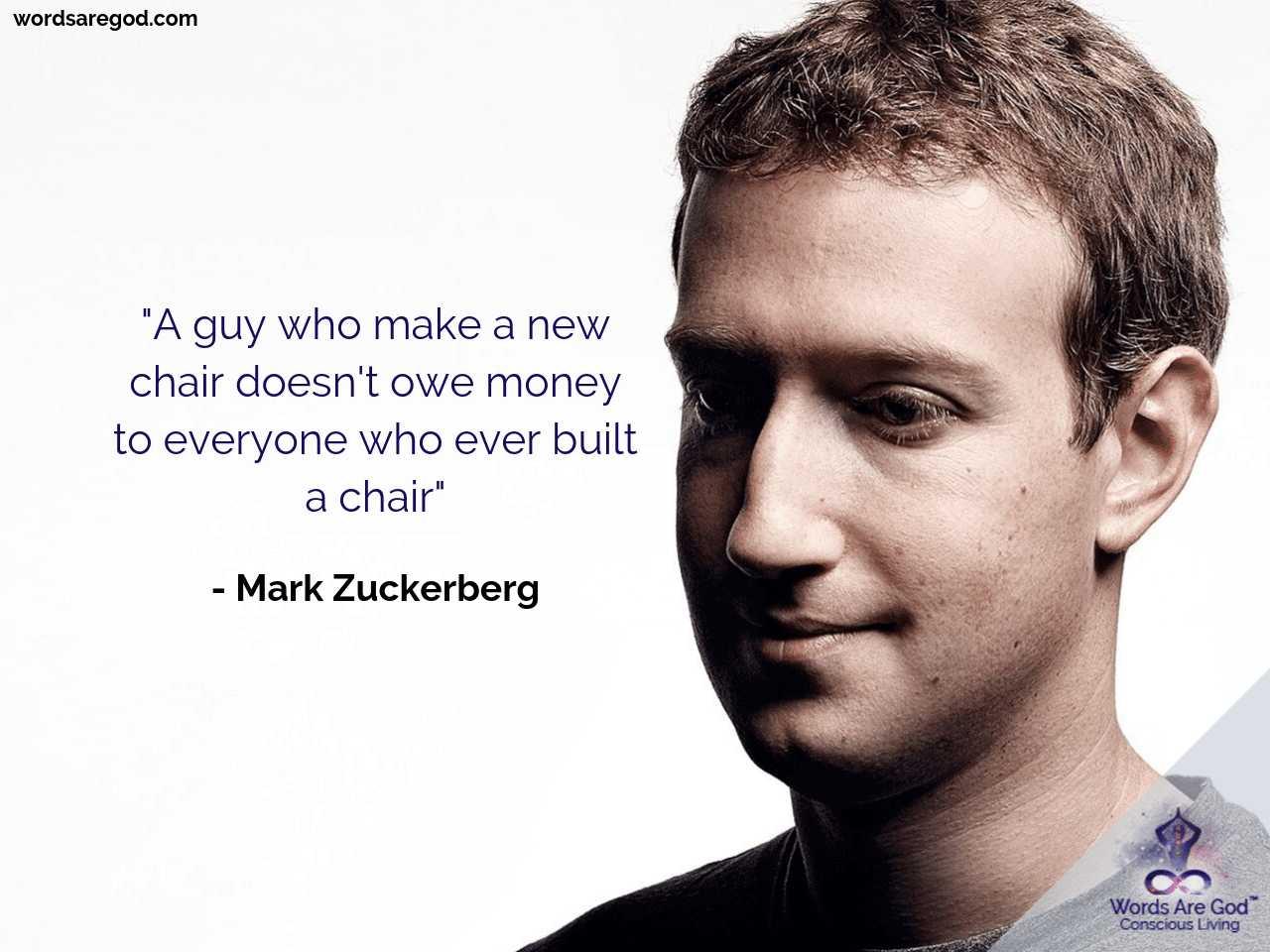 Mark Zuckerberg Life Quote
