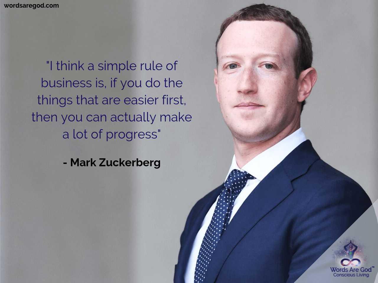 Mark Zuckerberg Motivational Quote