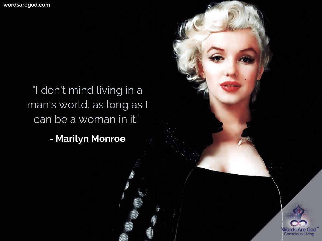 Marilyn Monroe Life Quote by Marilyn Monroe
