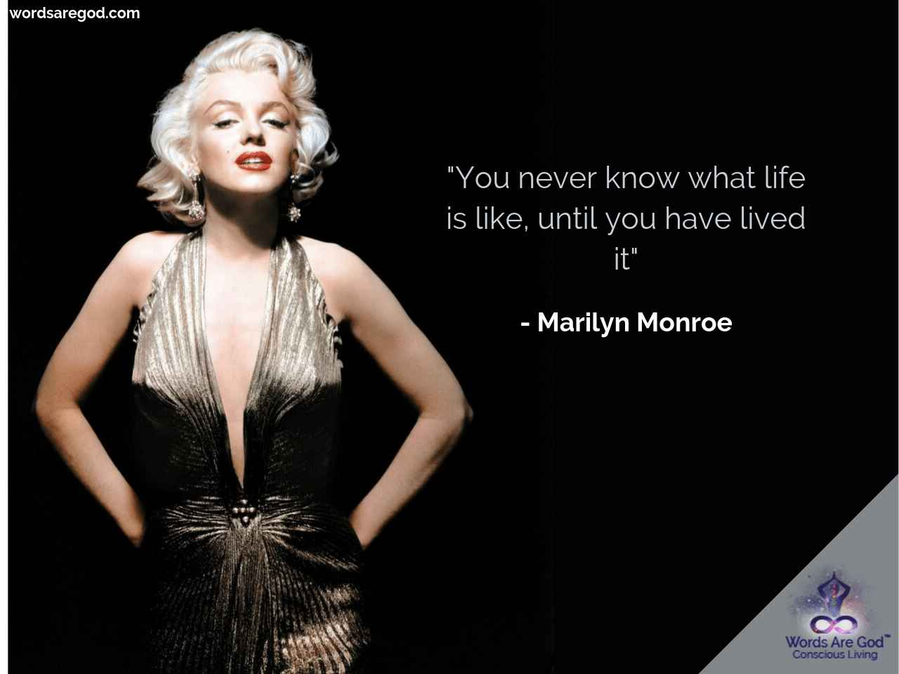 Marilyn Monroe Motivational Quote