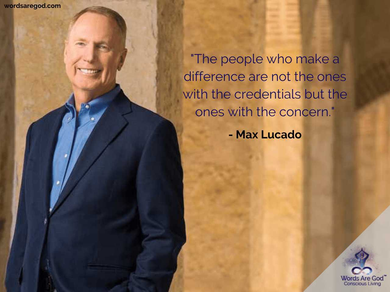 Max Lucado Inspirational Quotes
