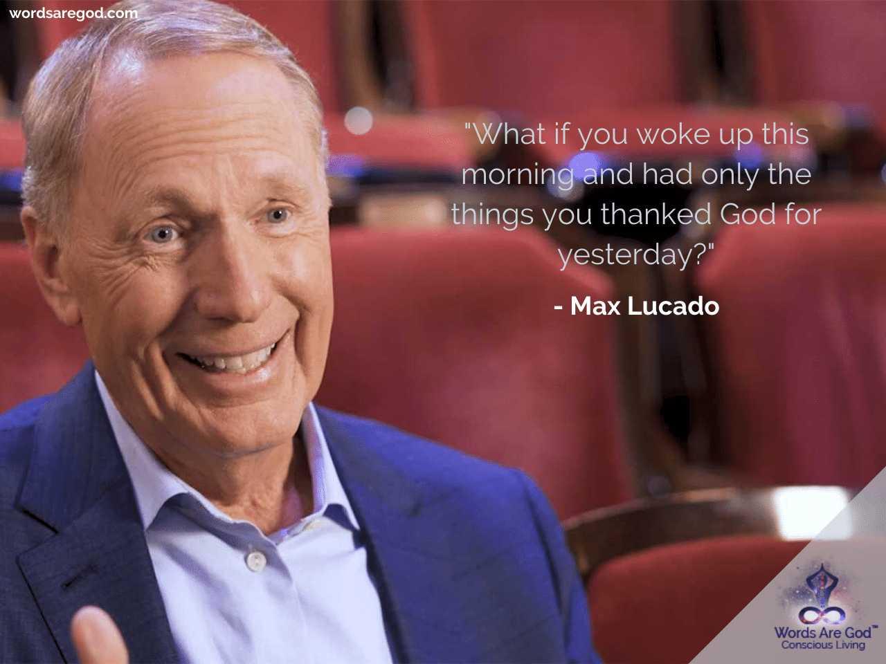 Max Lucado Motivational Quotes
