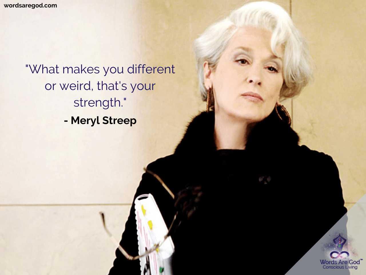 Meryl streep Best Quotes