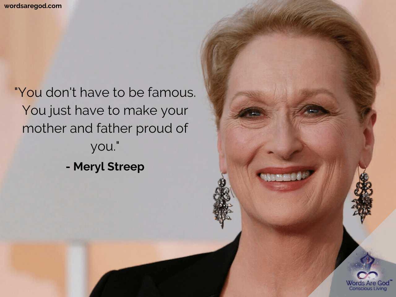Meryl streep Inspirational Quotes
