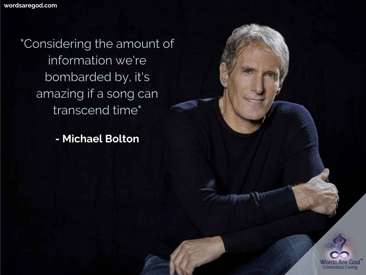 Michael bolton Music Quotes by Michael Bolton