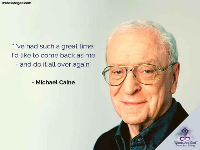 Michael Caine Best Quotes