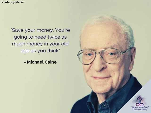 Michael Caine Motivational Quotes