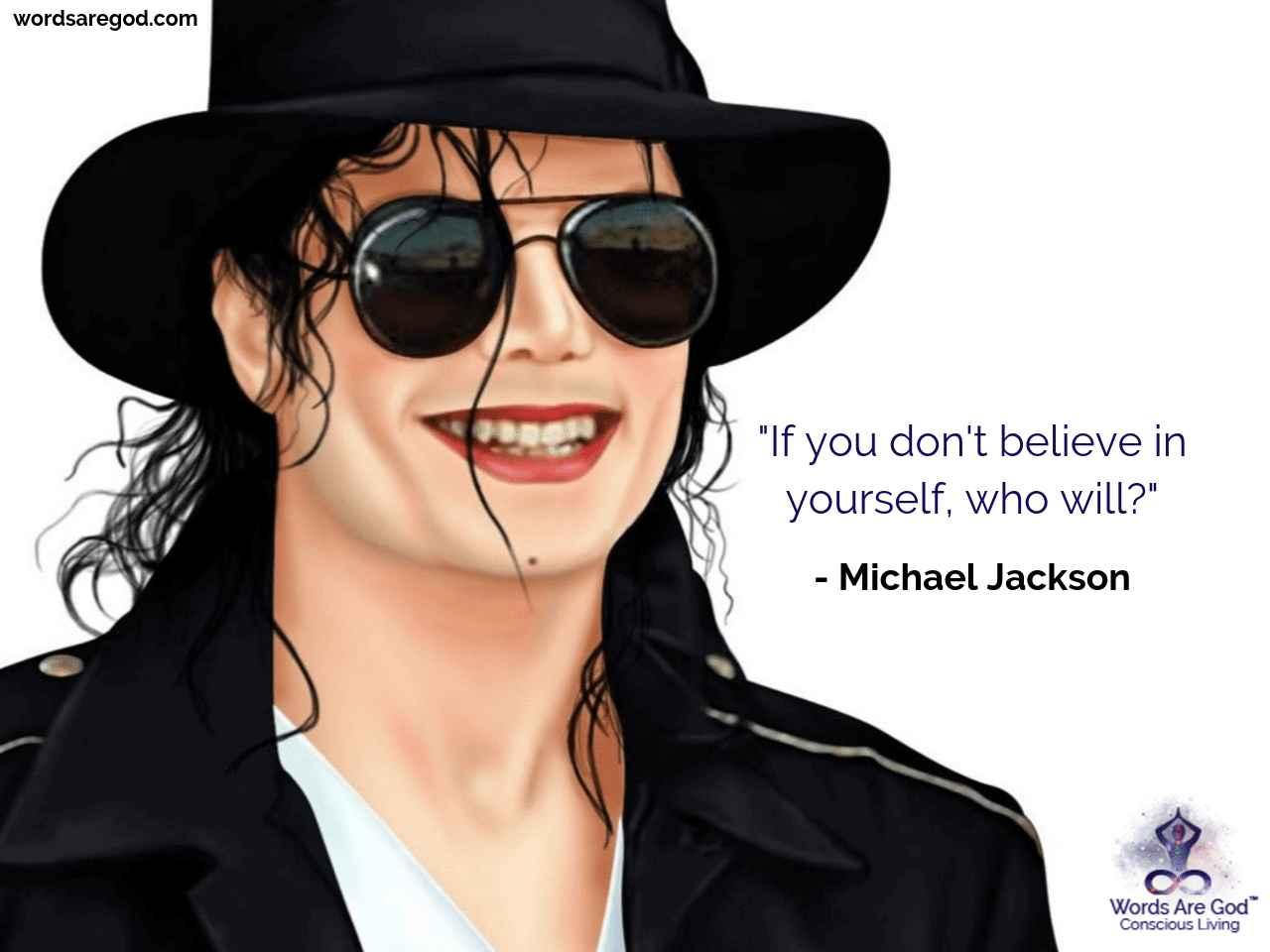 Michael Jackson Best Quote