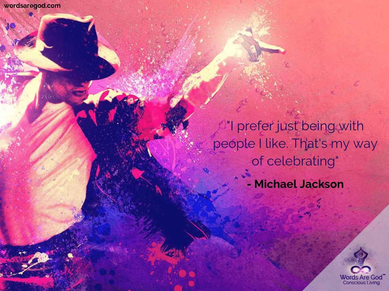 Michael Jackson Inspirational Quote