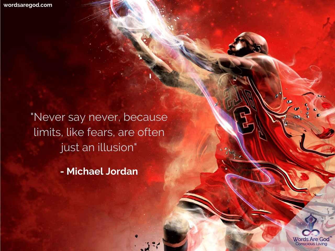 Michael Jordan  Inspirational Quote by Michael Jordan