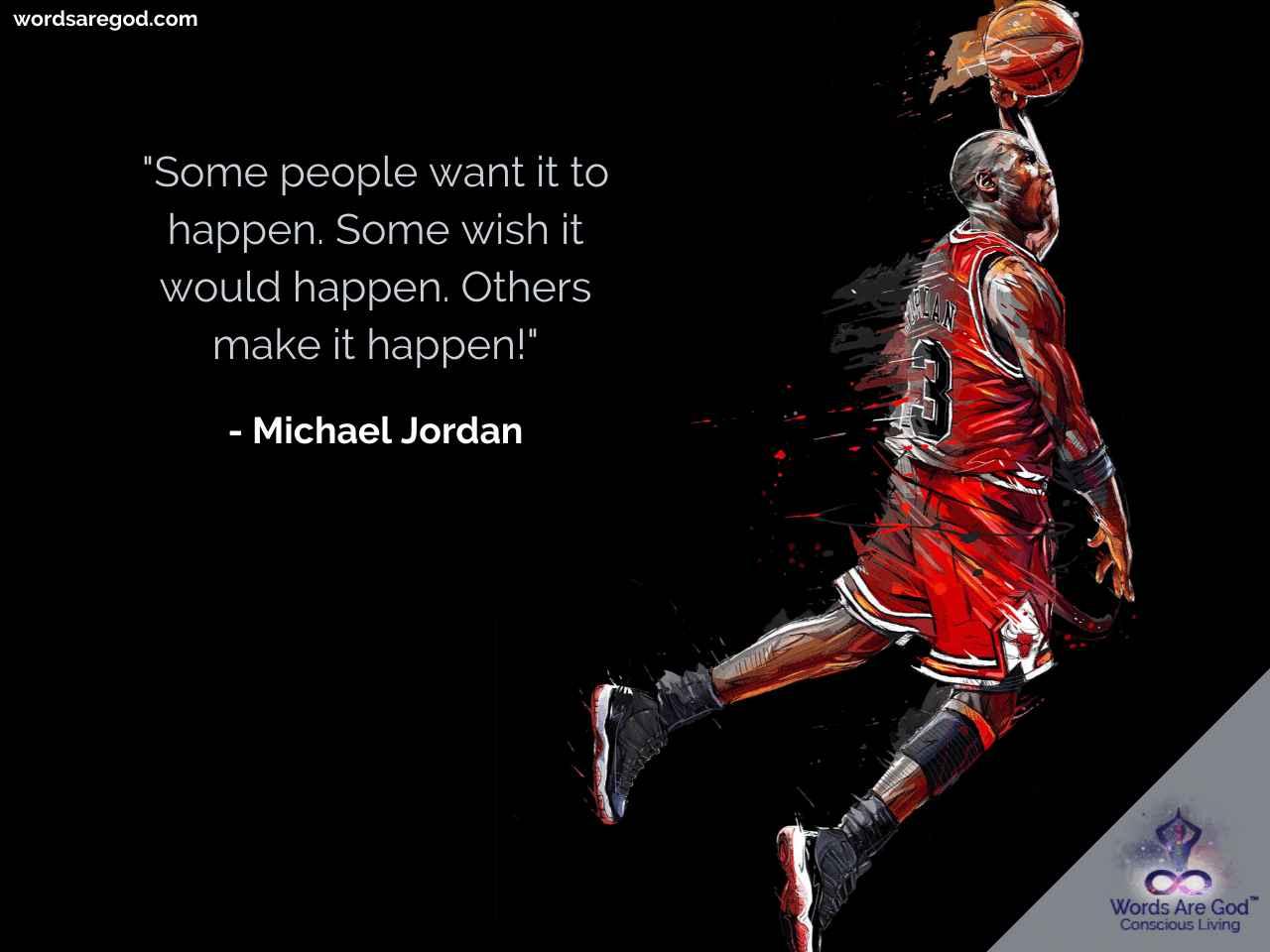 Michael Jordan  Life Quote by Michael Jordan