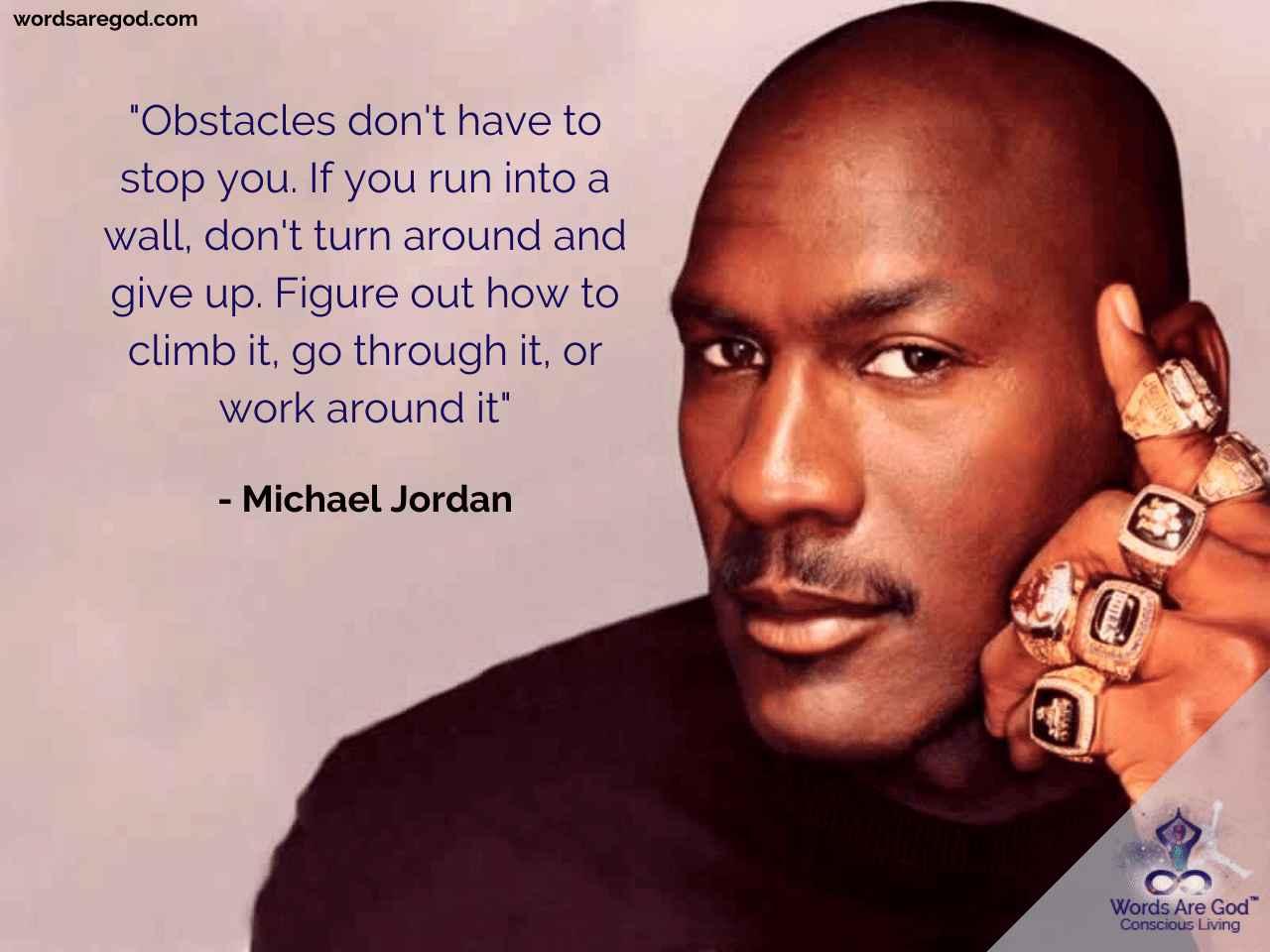Michael Jordan  Motivational Quote by Michael Jordan