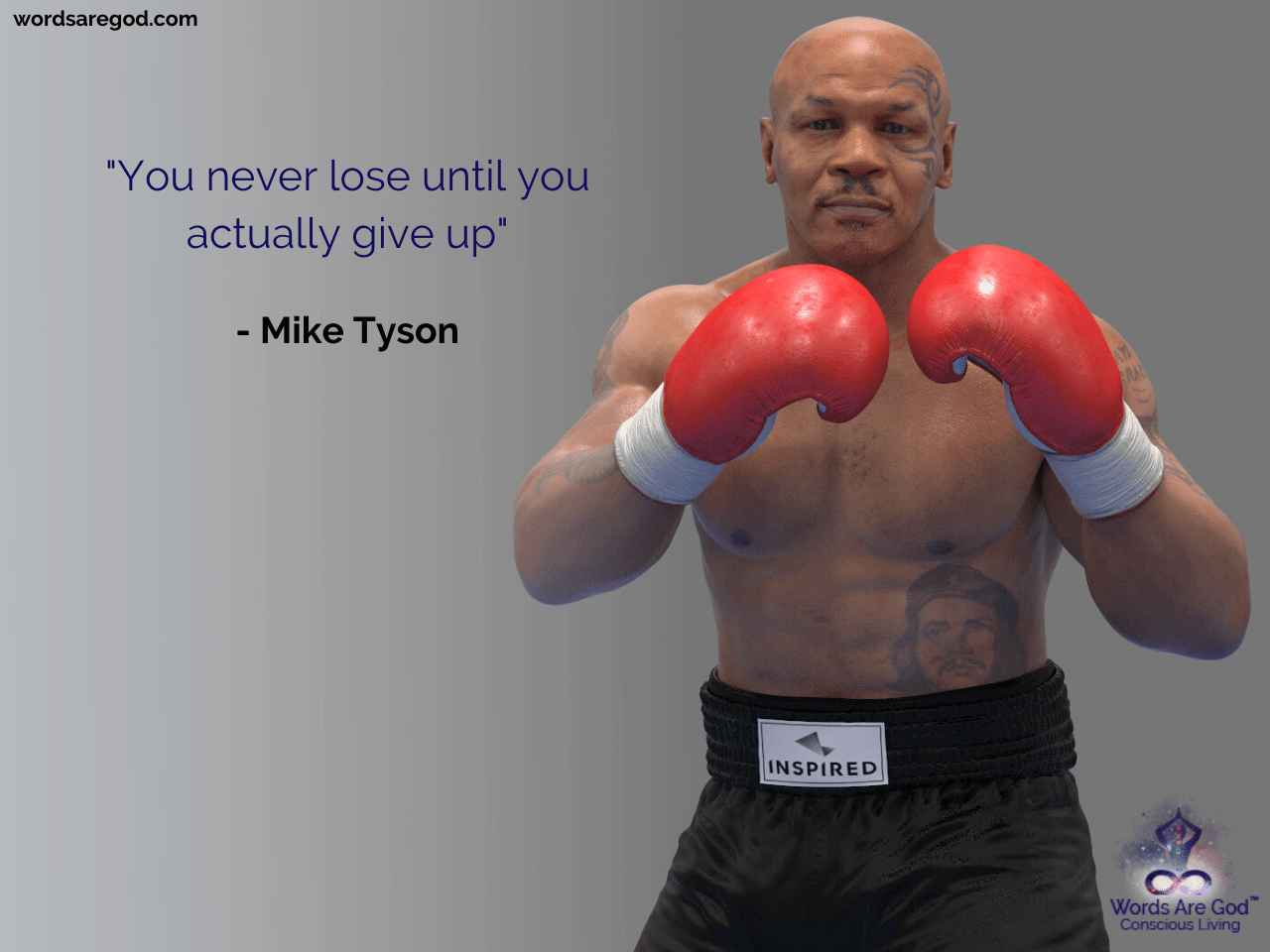 Mike Tyson Motivational Quote