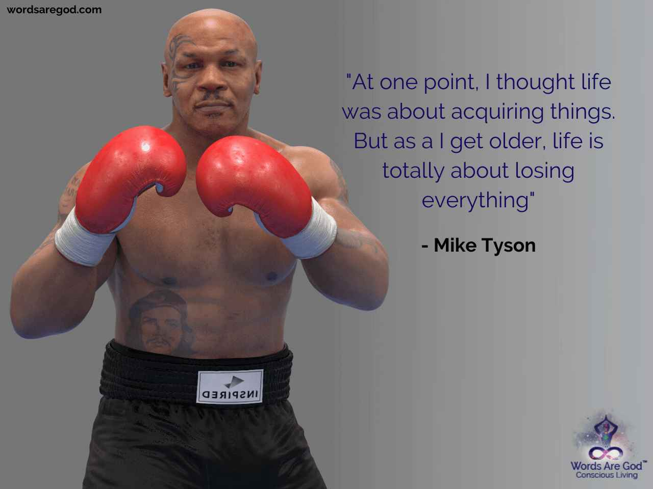 Mike Tyson Motivational Quote by Mike Tyson