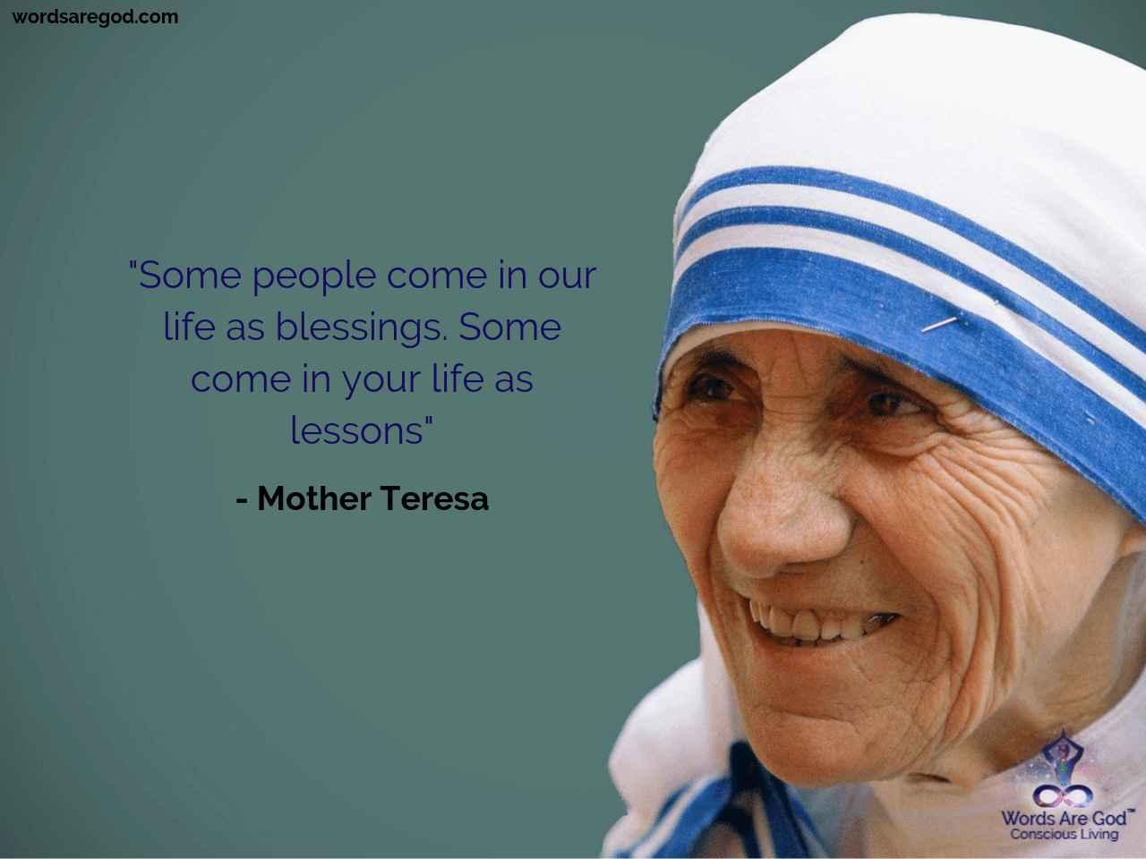 Mother teresa  Best Quote