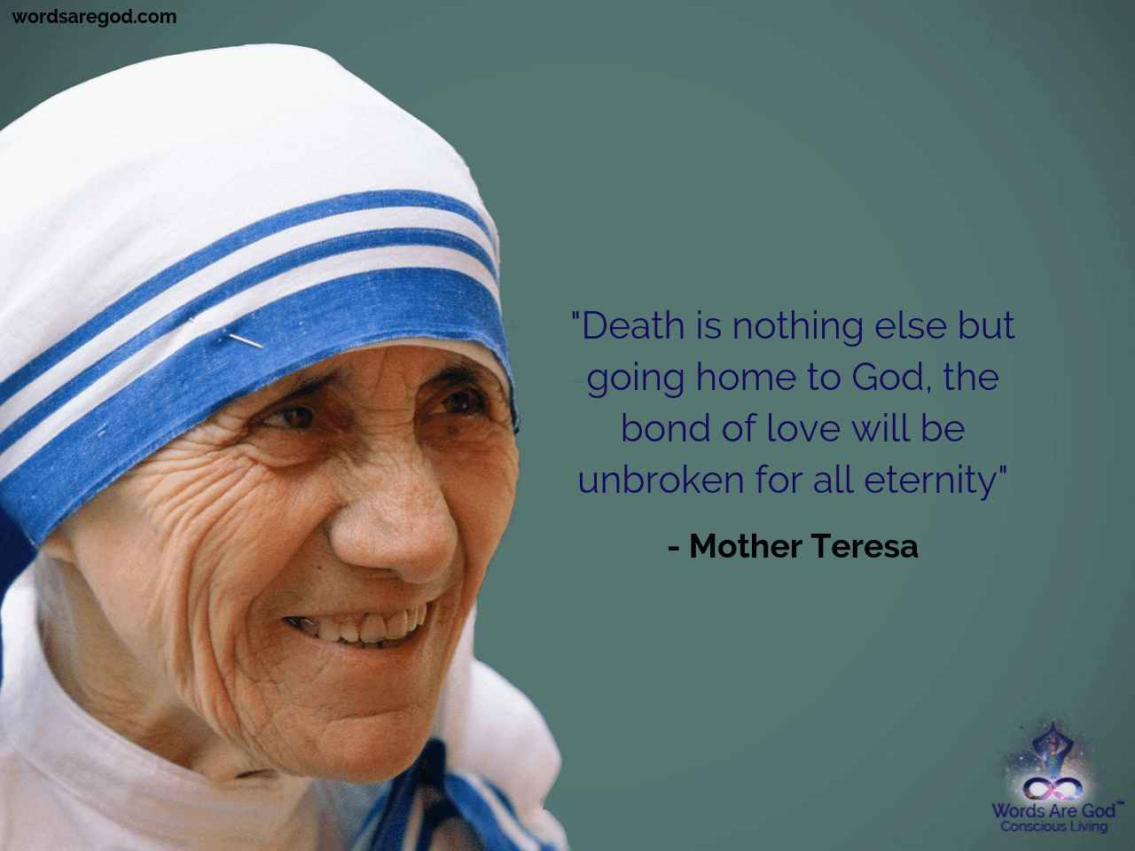 Mother teresa Inspirational Quote by Mother Teresa